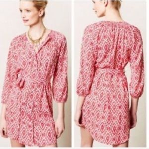 Maeve Anthropologie Frequencies Ikat Dress M A69